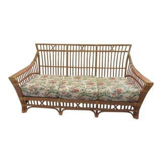 Island Style Rattan High Back Sofa For Sale
