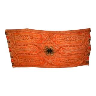 Handwoven Kashmir Paisley Blanket For Sale