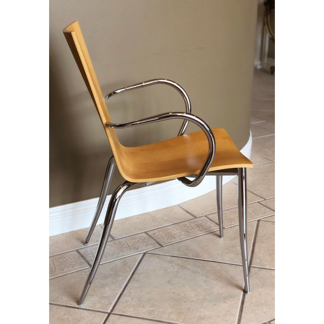 Metal Philippe Starck for Driade Olly Tango Armchair For Sale - Image 7 of 7