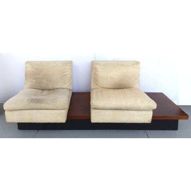Pearsall-Style Modular Platform Sofa - Image 3 of 9