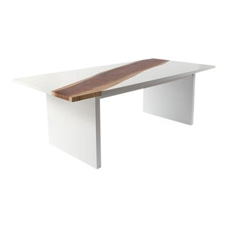 Phillips Collection Forester Dining Table, White For Sale