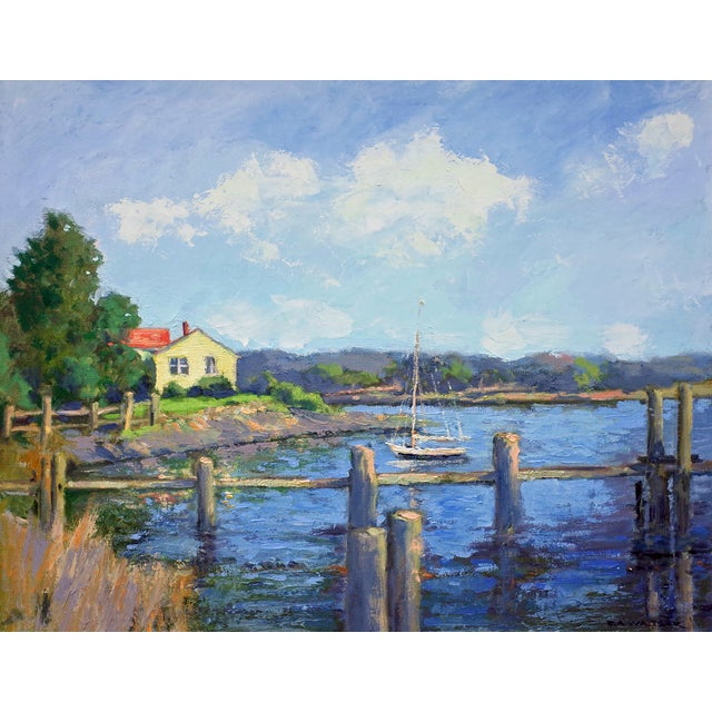 Quiet Inlet Painting - Image 1 of 5
