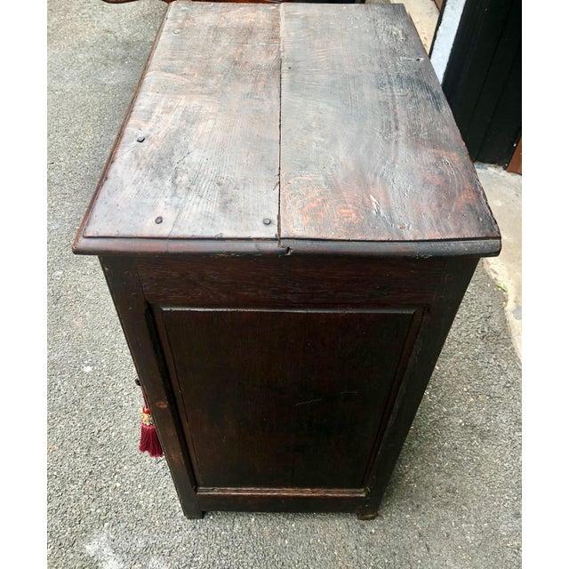 18th Century Georgian Oak Cabinet For Sale - Image 10 of 13