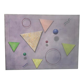 Postmodern Abstract Painting by Sorensen For Sale