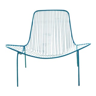 Wave Outdoor Metal Lounge Chair