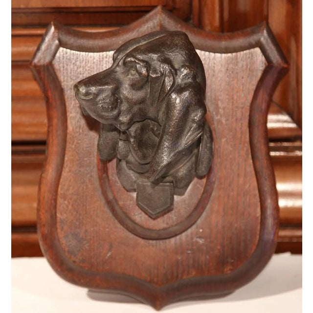 19th C. French Bronze Dog Sculpture - Image 2 of 7