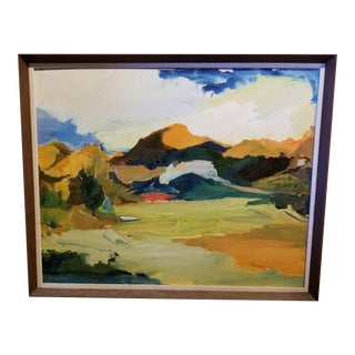 Fauvism Style Landscape Painting For Sale