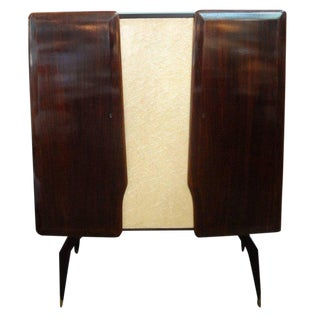 Italian Cabinet or Bar Attributed to Dassi For Sale