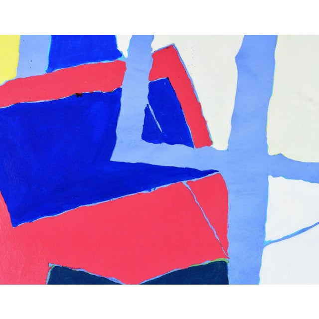 """Early 21st Century Abstract Original Painting, """"Composition"""" by Anders Hegelund - Image 5 of 11"""