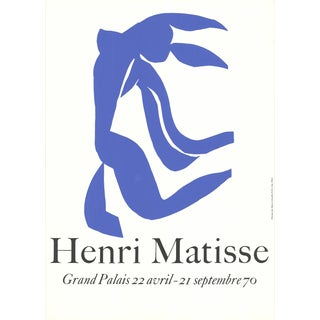 Henri Matisse, Grand Palais, Paris, Serigraph, 1970, Edition: 300 For Sale