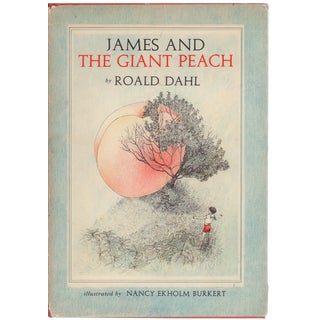"""1961 """"James and the Giant Peach"""" Coffee Table Book For Sale"""