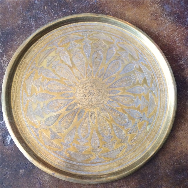 Etched Brass Tray - Image 5 of 6