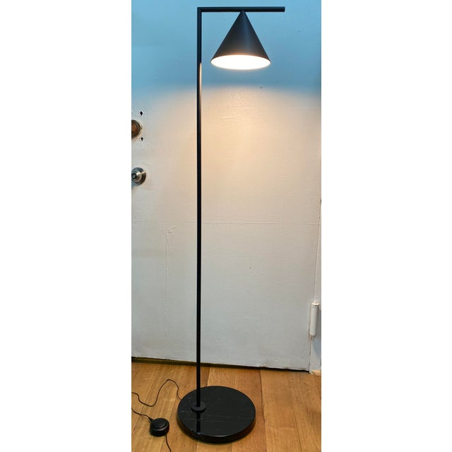 Contemporary Flos Black Captain Flint Contemporary Style LED Floor Lamp For Sale - Image 3 of 13