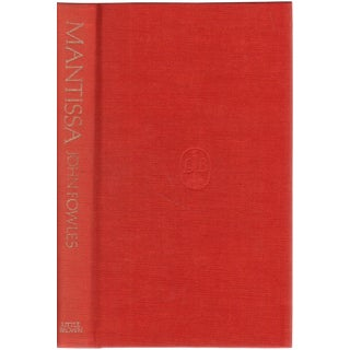 """1982 """"Signed Limited Edition, Mantissa"""" Collectible Book For Sale"""