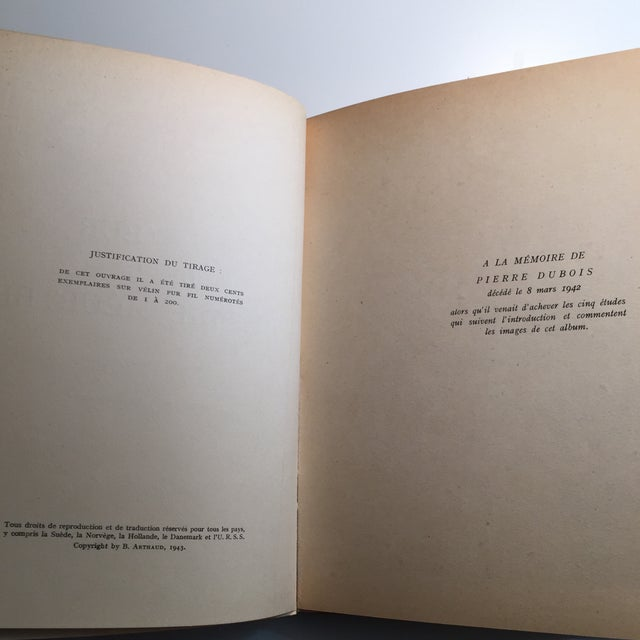 French Country 1943 Au Coeur De La Picardie Meurtrie Scarce Book For Sale - Image 3 of 11