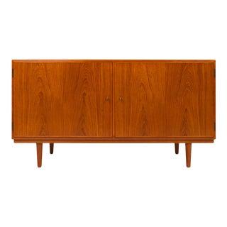 Vintage 1960s Danish Mid-Century Teak Sideboard Credenza For Sale