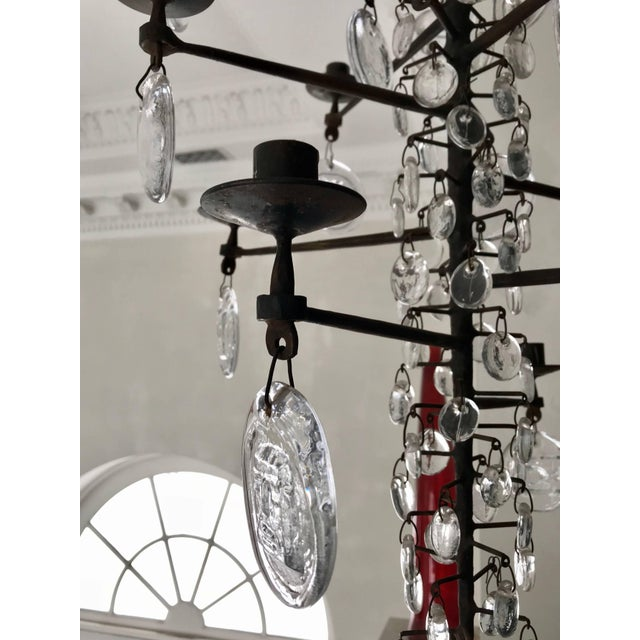 1960s Eric Hoglund Chandelier For Sale - Image 5 of 8