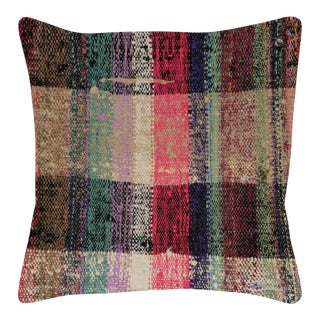"1960s Turkish Hemp Pillow - 20"" X 20"" For Sale"
