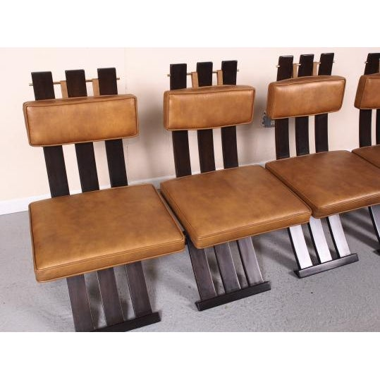 Mid 20th Century Rare & Outstanding Harvey Probber Games Table & Scissor Chairs For Sale - Image 5 of 11