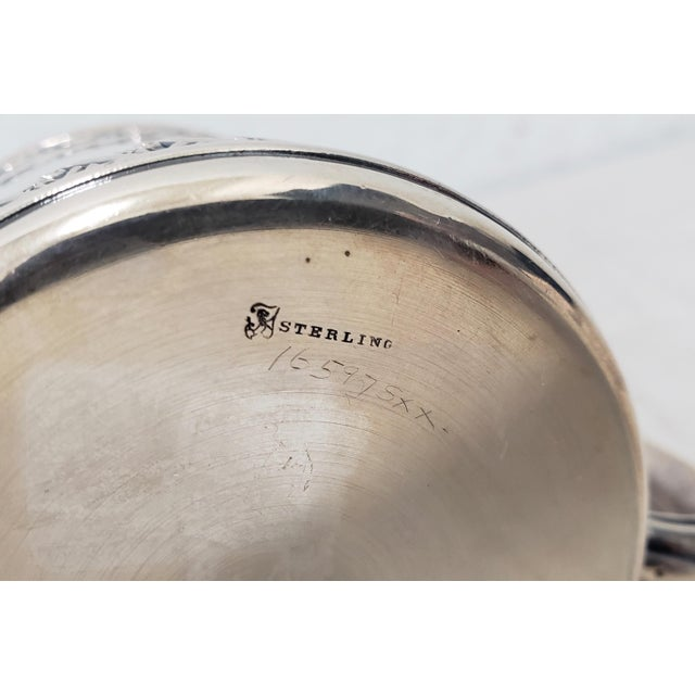 Late 19th Century Sterling Silver Christening Cup C.1896 For Sale In San Francisco - Image 6 of 8