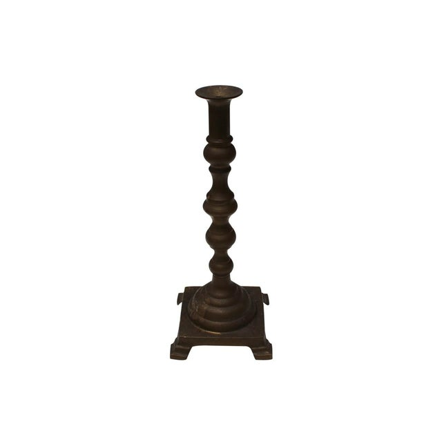 Brass Candle Sticks - A Pair - Image 2 of 4