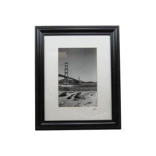 Jesse Kalisher (1962-2007) Original Photo of the Golden Gate Bridge #303 Signed For Sale