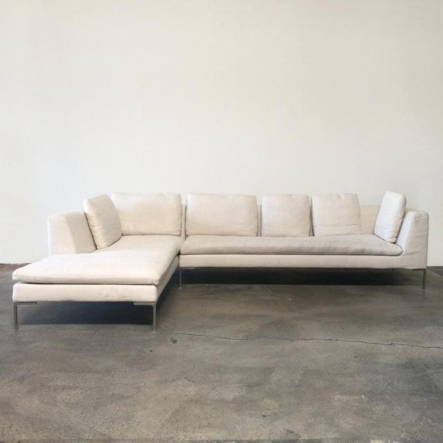B&B Italia 'Charles' sofa by Antonio Citterio, 1997. The 'Charles' sofa by B&B Italia is the gold standard in contemporary...