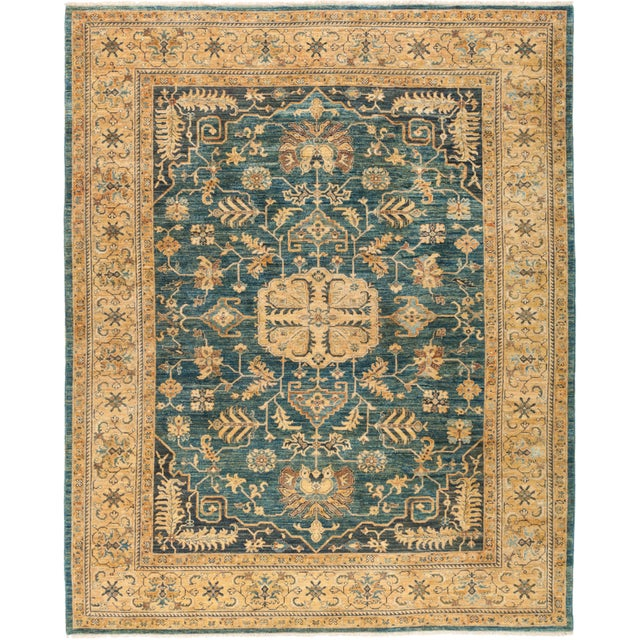 "Ziegler Hand Knotted Area Rug - 8' 3"" X 10' 3"" - Image 4 of 4"
