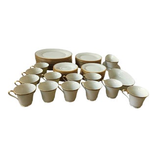Lenox Eternal China Set Service for 12 - 62 Pieces For Sale