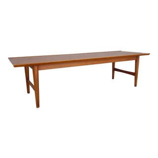 1960's Mid-Century Contemporary Perennian Heritage Pecan Coffee Table