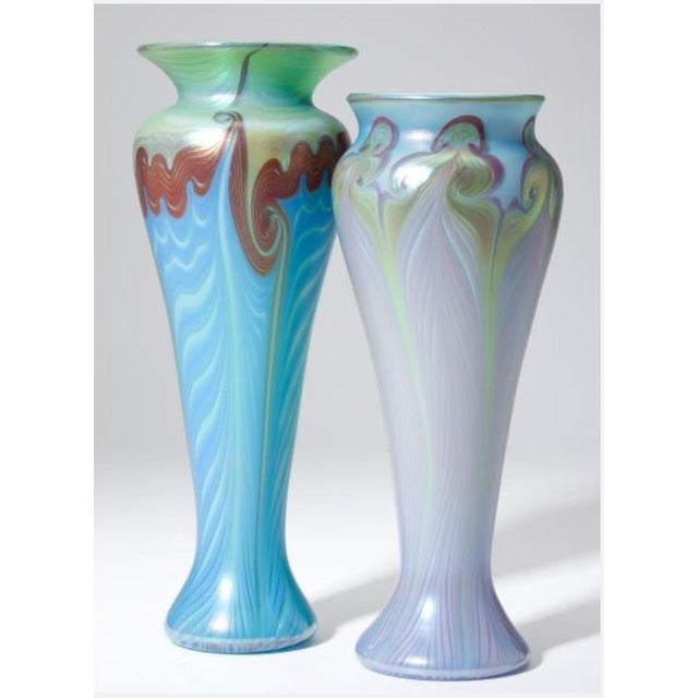 Vandemark Art Glass Vases- Set of 2 - Image 2 of 5
