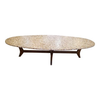 Mid-Century Modern Surfboard Coffee Table For Sale