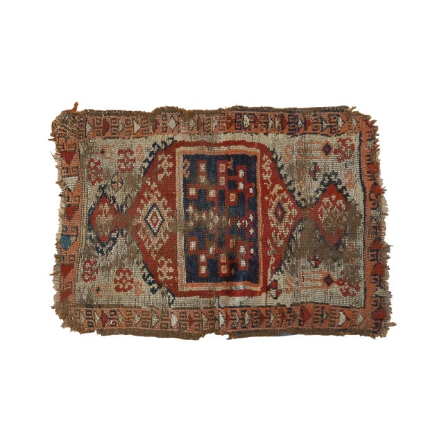 """Antique Anatolian Rug Mat - 1'10"""" x 2'8"""" For Sale"""