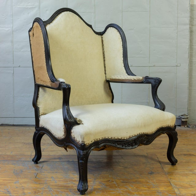 Unusual French, 19th Century Napoleon III Winged Bergere - Image 3 of 12