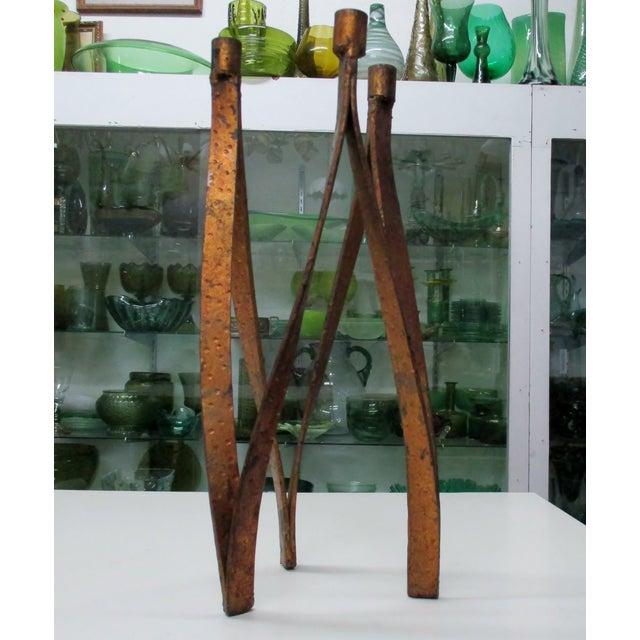 Handmade Iron Candelabra - Image 9 of 10