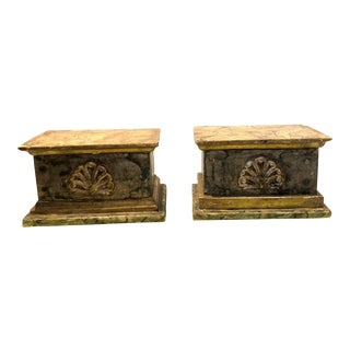 18th C. Carved Wood Decorative Shelf For Sale