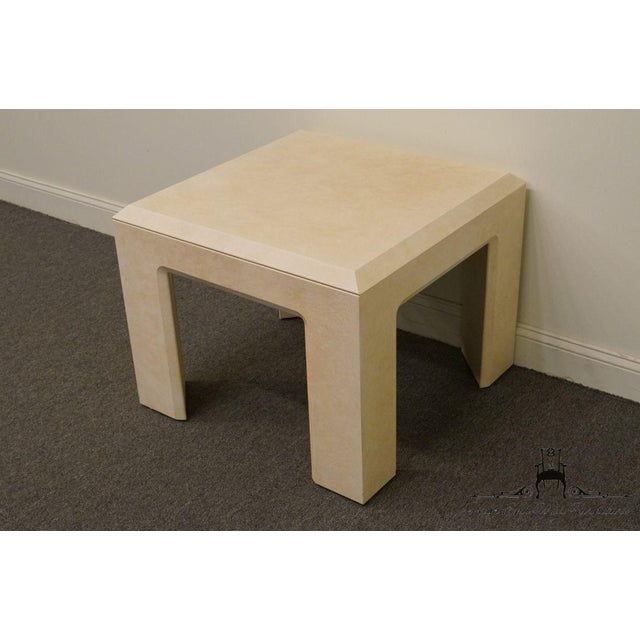 """Contemporary Lane Furniture Contemporary Style 28"""" End Table For Sale - Image 3 of 13"""