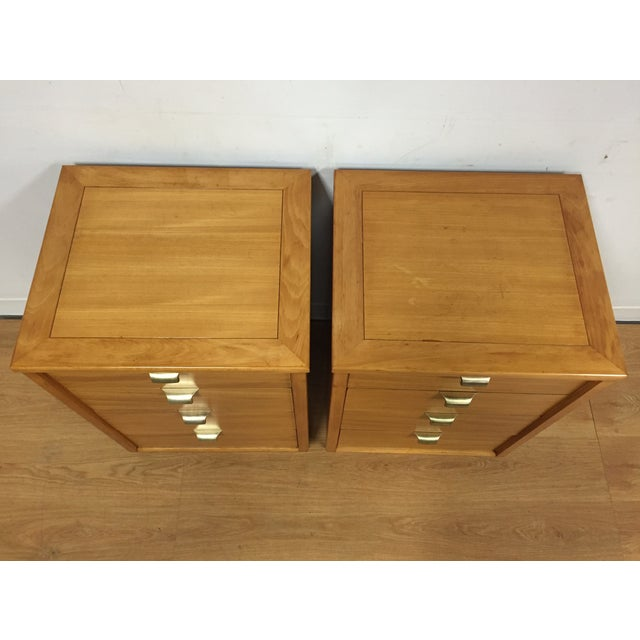 Edward Wormley for Drexel Nightstands - A Pair - Image 6 of 10