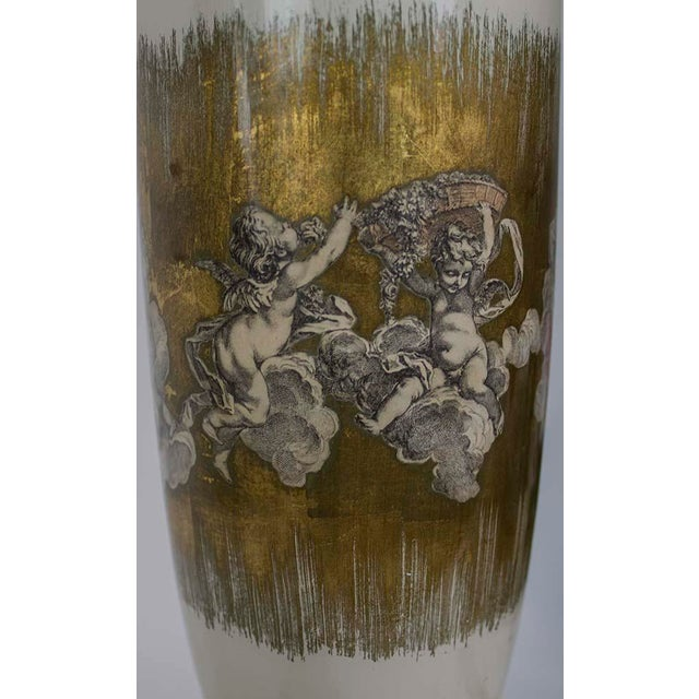 1940s Fornasetti Style Table Lamp For Sale In Las Vegas - Image 6 of 12