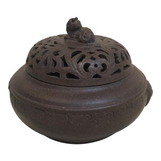 Asian Incense Burner For Sale