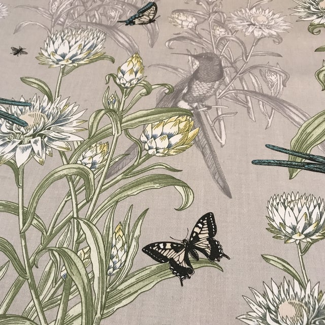 Blendworth Menagerie Enchanted Forest Cotton Fabric 6 Plus Continuous Yards For Sale - Image 10 of 10