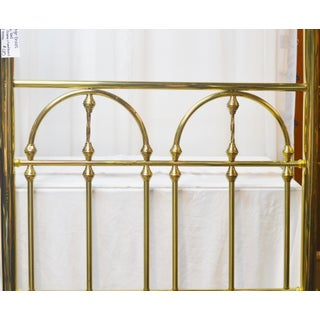 19th Century Hollywood Regency Brass Headboard Twin Bed Preview