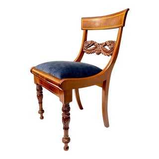 Early 19th Century Baltic Neoclassical Side Chair For Sale