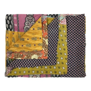 Assorted Patch Rug and Relic Kantha Quilt