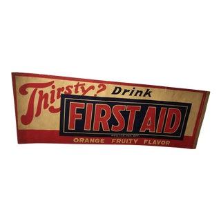 Original 'First Aid: Orange Fruity' Ad