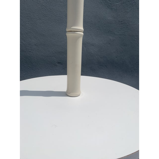 1970s 1970's Faux Bamboo Floor Lamp For Sale - Image 5 of 8