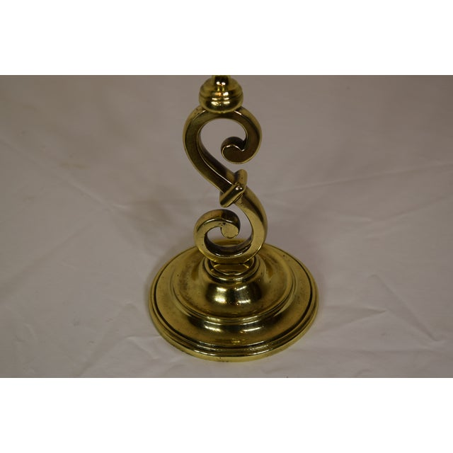 Late 19th Century Victorian English Brass Door Stop For Sale - Image 4 of 7