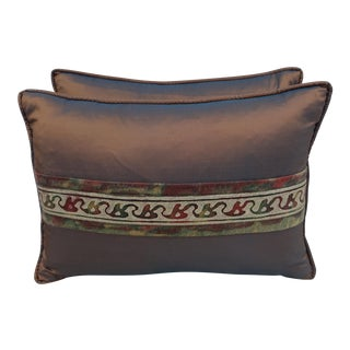 Custom Fortuny Pillows - a Pair
