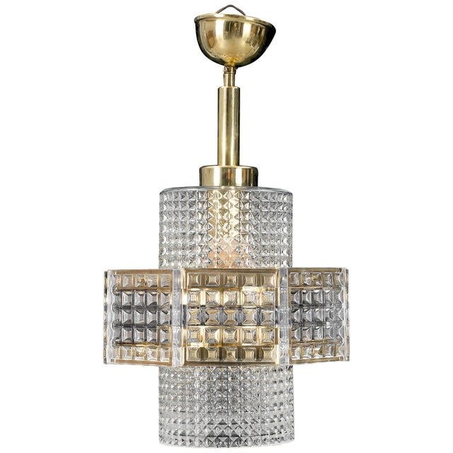 Orrefors Pendant by Orrefors For Sale - Image 4 of 4