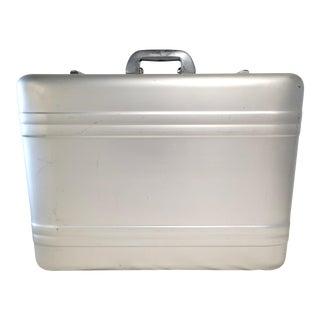 Vintage Halliburton Aluminium Luggage Case For Sale